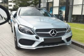 Mercedes-Benz C-Class Coupe spotted in Malaysia 1
