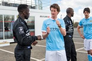 Nissan Manchester City Dream Job Swap 12