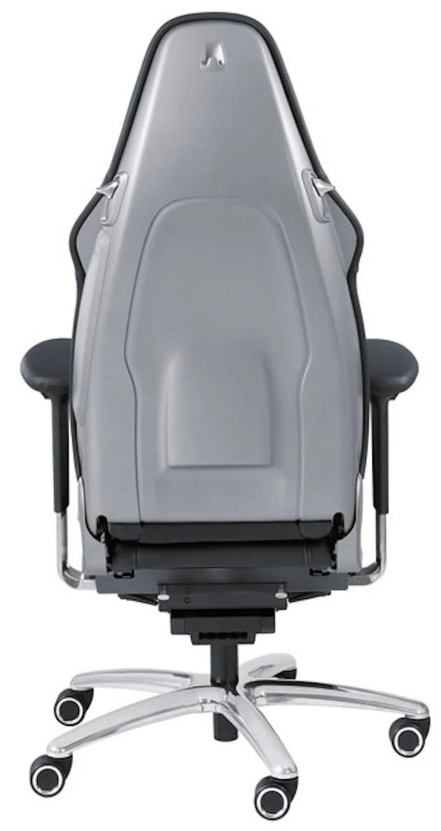 Porsche office chair RS-03  sc 1 st  Paul Tan & VIDEO: Porsche 911 - u201coffice chair RSu201d sports seat