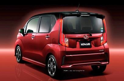 perodua new release carNextgeneration Perodua Kenari  exterior and interior rendered
