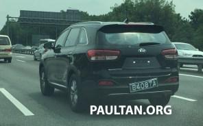 2016 Kia Sorento Malaysia spotted 8