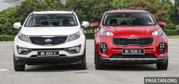 gallery kia sportage new ql together with old sl. Black Bedroom Furniture Sets. Home Design Ideas