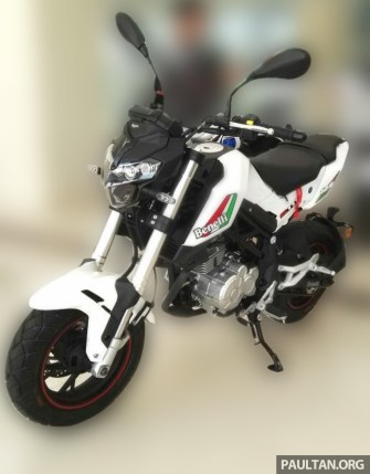 2016 Benelli T302R and T125 -10