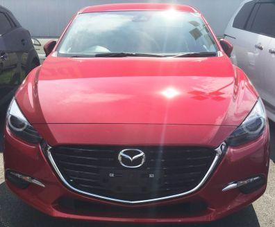 2016 Mazda 3 facelift spyshots 4