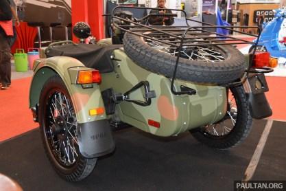 2016 GIIAS Ural Motorcycles sidecar -8