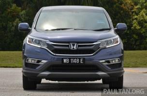 Honda CR-V Facelift Review 17