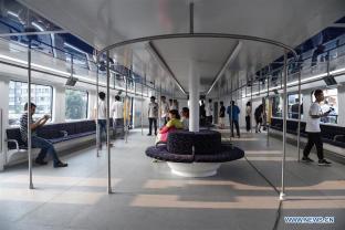Transit Elevated Bus China 8