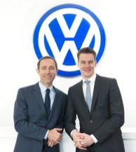 L-R Mr. Alin Tapalaga and Mr. Florian Steiner of Volkswagen Passenger Cars Malaysia (VPCM)
