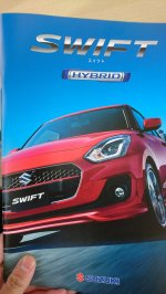 Next-gen Suzuki Swift leaked brochure 1