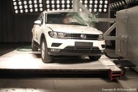 Second-gen Volkswagen Tiguan Euro NCAP 3