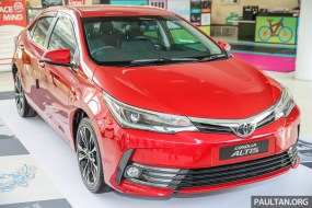 Toyota Corolla Altis 2.0V facelift 2