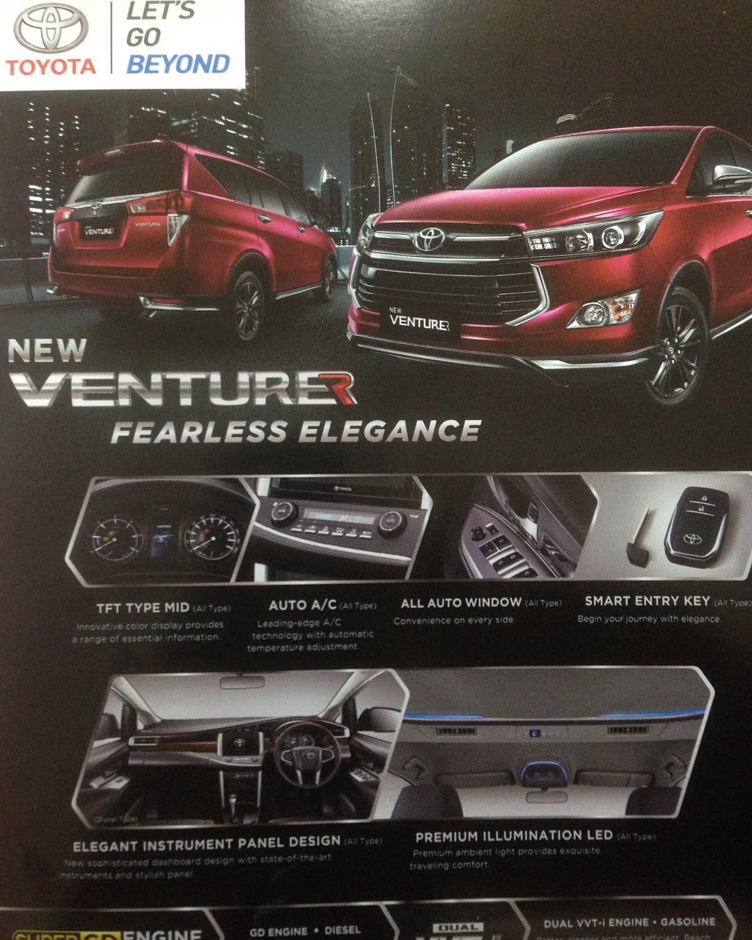 toyota all new innova venturer ukuran velg yaris trd for indonesian market leaked brochure 1