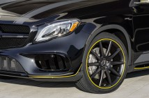 Mercedes-Benz AMG GLA 45 4MATIC Yellow Night Edition, X156 (2017