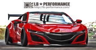 Honda NSX LB 3