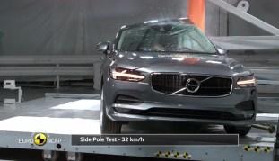 Volvo S90 V90 Euro NCAP 4