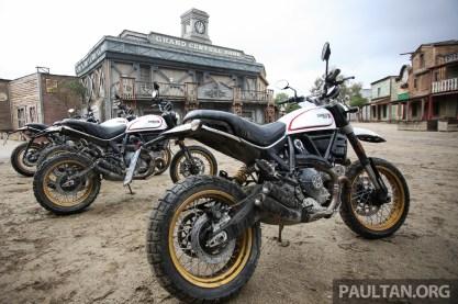 Ducati Scrambler Desert Sled on site BM-11