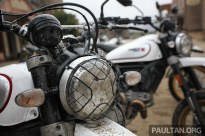 Ducati Scrambler Desert Sled on site BM-14
