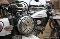 Ducati Scrambler Desert Sled on site BM-14