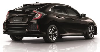 2017 Honda Civic Hatchback Thailand 2