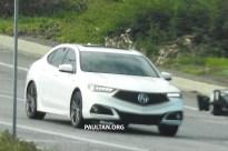 2018 Acura TLX spyshots 10