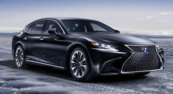 2018 Lexus LS 500h 5