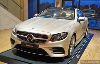 C238 Mercedes-Benz E-Class Coupe 1