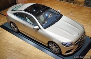C238 Mercedes-Benz E-Class Coupe 11