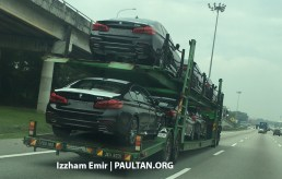 G30 BMW 5 Series Malaysia spyshots 2