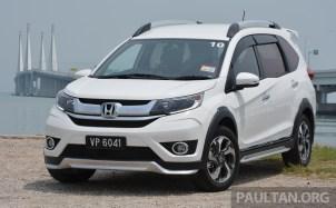 Honda BR-V Malaysia Drive 1_BM