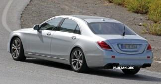 Mercedes S facelift 5