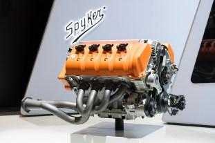 Spyker_Preliator Koenigsegg engine