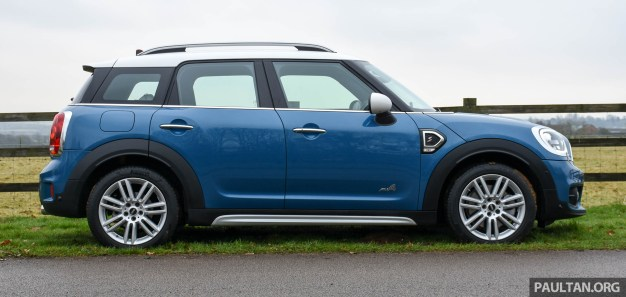 F60 MINI Cooper S Countryman ALL4 review-ext 23