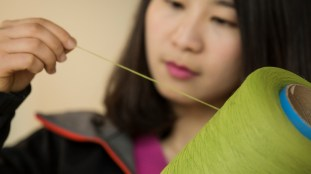 Janet Yin, a materials engineering supervisor at Ford's Nanjing Research & Engineering Centre, and her team have researched the use of bamboo for vehicle parts because of its tensile strength – or how much it can resist being pulled apart – which can rival or even better some types of metal.