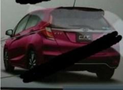 Honda Jazz facelift leaked Japan 8