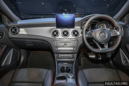 X156 mercedes benz gla facelift launched in malaysia for 2017 mercedes benz gla 250 floor mats