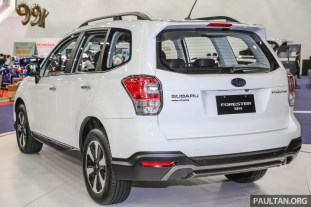 Subaru Forester 2 0i-S launched in M'sia - RM133,818