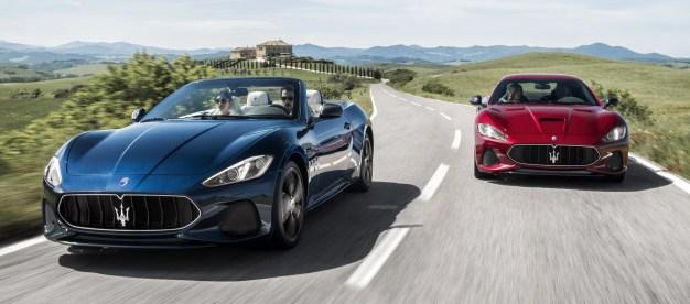 2018 Maserati GranCabrio and GranTurismo 1