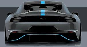 Aston Martin RapidE sketch 3