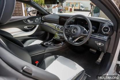 2017 Mercdedes Benz E300 Coupe AMG Line_Int-1