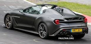 Aston Martin Vanquish Zagato Speedster 25