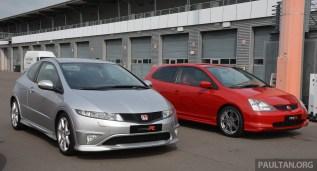 Honda Civic Type R family 10