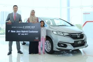 Honda Jazz Hybrid first customer Malaysia 1