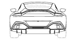 New Aston Martin Vantage patent images 4
