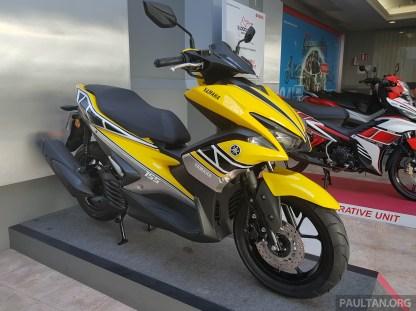 2017 Yamaha NVX 155 special graphics -16 BM