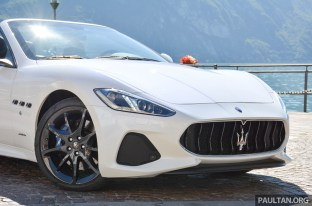 2018 Maserati GranCabrio review 6