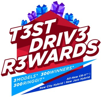Honda Malaysia T3ST DRIV3 R3WARDS