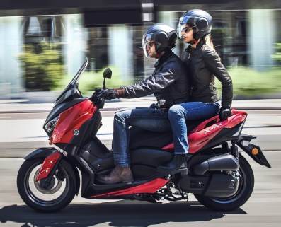 2018 Yamaha X-Max 125 scooter released in Europe