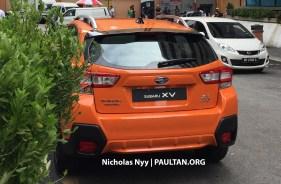New Subaru XV spotted in Malaysia 2