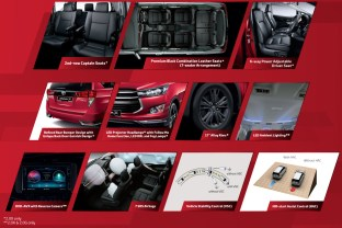 Toyota Innova 2.0X MY features