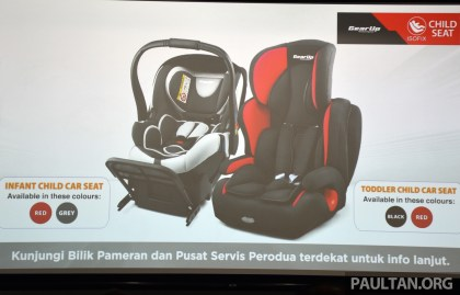 Perodua Safety Child Seats 9